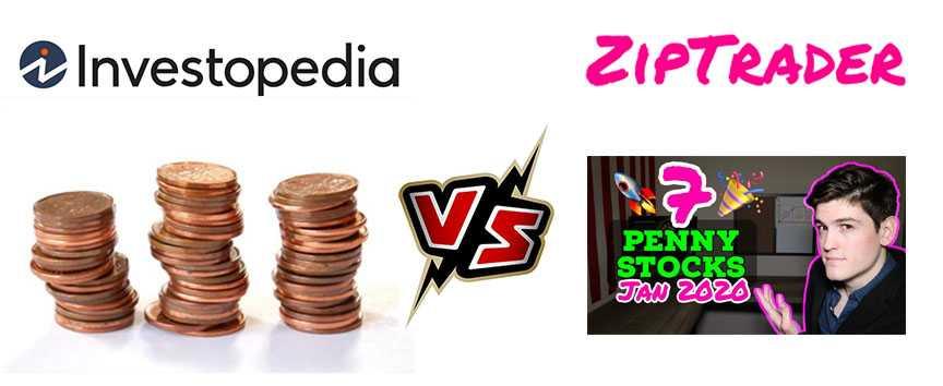 Penny Stocks | Top Results from Ziptrader vs Investopedia