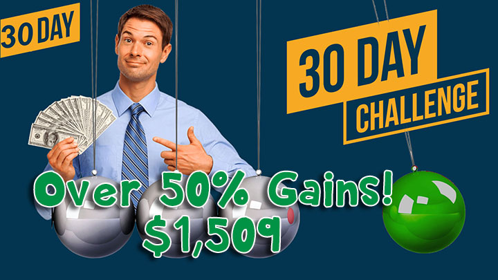 30 Day Money Challenge Trading Stocks